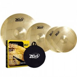 Kit de Pratos 3Un Beginner Set C Zeus