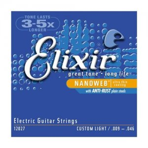 Encordoamento Guitarra 0,09 Elixir